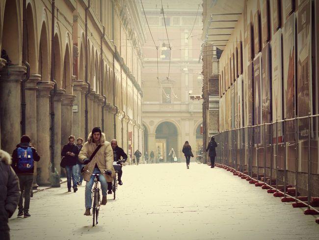 Bologna Bologna, Italy Emiliaromagna Italia Italy🇮🇹 Streetphotography Real People Real Life Taking Photos EyeEm Best Shots Street Bycicles Quotidian Panasonic Dmc Fz50