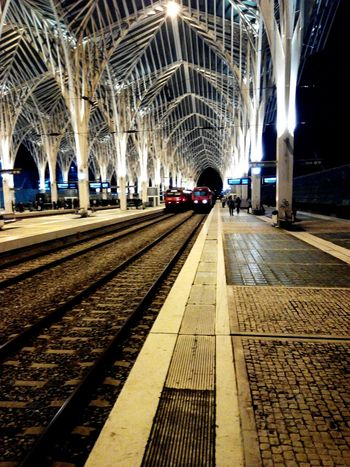 Lisboa Lisbon Oriente Gare Do Oriente Train Train Station February2015