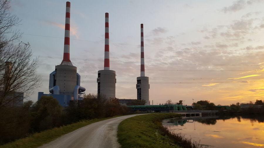 Sunset Ingolstadt Vorburg
