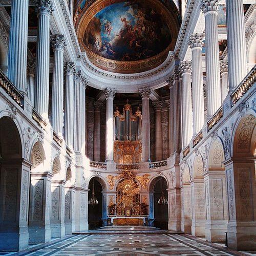 Capilla del Palacio de Versalles. CaminandoVersalles CaminandoParis Versaillespalace