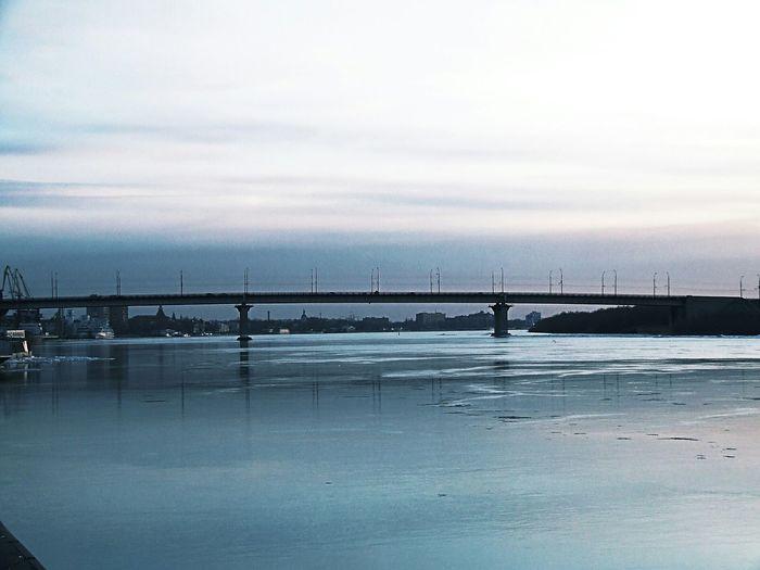 The city bridge, nature