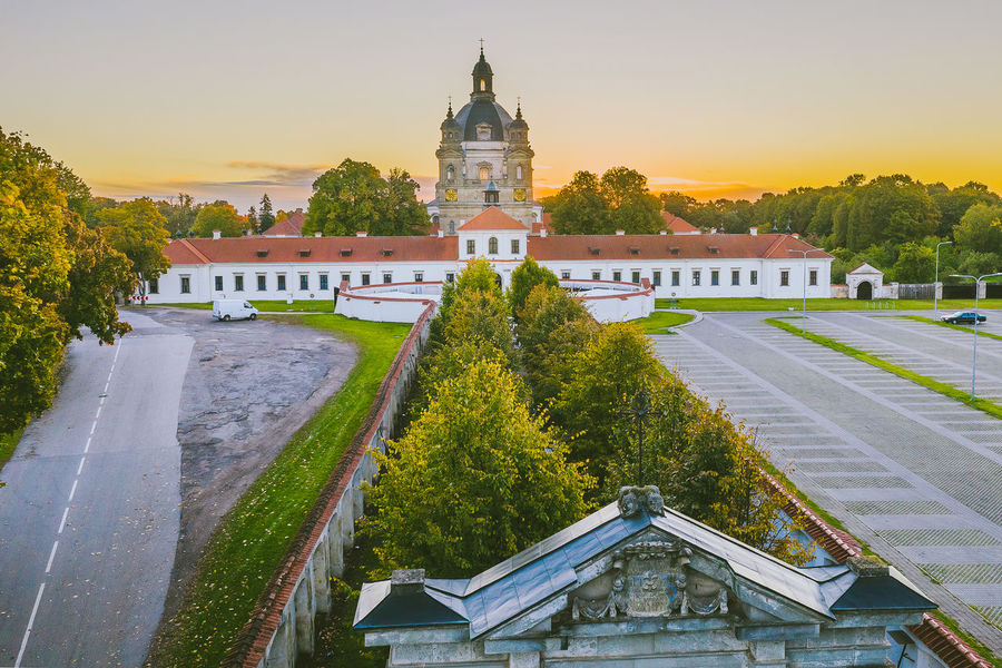 Pazaislis Monastery Drone  Aerial View Aerial Mavic 2 Mavic 2 Pro Europe Lietuva Autumn DJI X Eyeem Pazaislis Monastery Pazaislis Monestery Pažaislis Architecture Built Structure Building Exterior Sky Building Tree Plant Place Of Worship The Past Nature History Travel Destinations Sunset Religion City No People Belief Spirituality Travel Outdoors