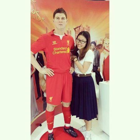 My Stevie, my captain :) Stevengerrard Liverpool Lfc