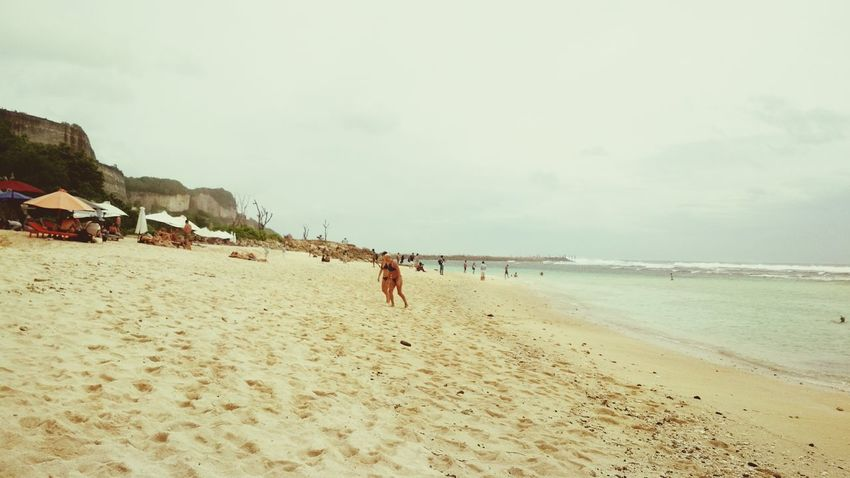 Beach Sand Sea Summer People Vacations