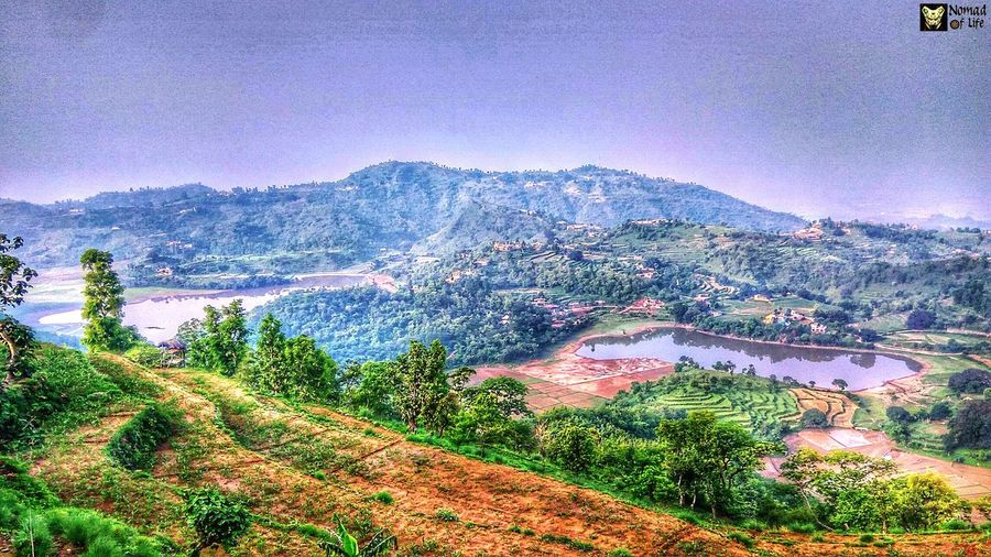 These two lakes are seperated by a distance but still have the same name... Tikkar taal... Agriculture Outdoors High Angle View Nature No People Sky Water Landscape Day Rural Scene Tree Architecture Mountain Beauty In Nature Tea Crop Lake Low Angle View Travel Photography Roadtrip Beauty In Nature Nature Highway Freshness Plant Growth