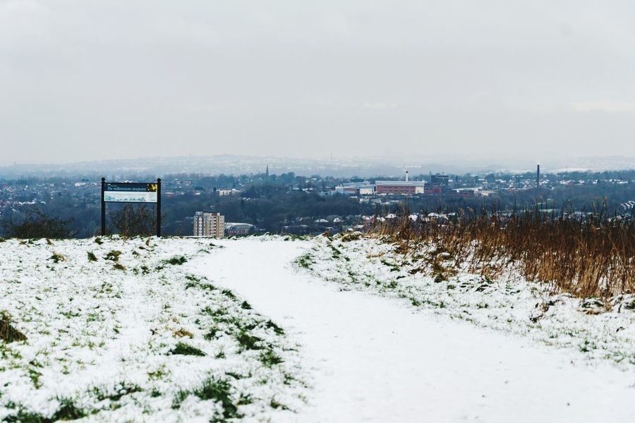 Great view! Gorse Hall Stalybridge Walking Around Cold Temperature Snow Winter Weather Outdoors Frozen No People Tranquility Beauty In Nature Snowing
