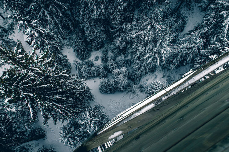Aerial Beauty In Nature Birdsview Cold Temperature Day Holiday Journey Landscape Mountain Nature No People Outdoors Range Road Scenics Snow Transportation Tree Weather Winter