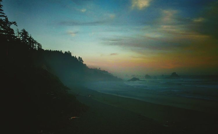 Cannon Beach, Oregon Beauty In Nature Sunset Beach Photography Ocean Clouds And Sky Sunsets Of Eyeem Beautiful ♥ Relaxing Outdoorlife Landscape_photography Enjoying Life Where I Always Want To Be Outdoors Check This Out Water_collection Evening Sky Evening Taking Photos Love Life ❤ Nightphotography Original Experiances