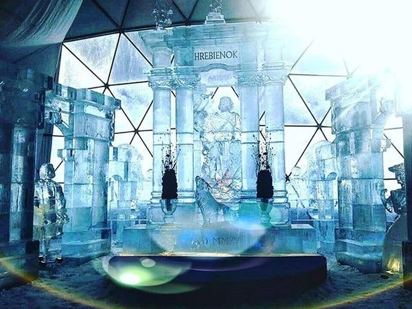 Hrebienok Ice Icesculpture Winter Cold Snow Hightatras  Slovakia Travel Amazing Mountains Wolf Dnescestujem Sunlight Pureslovakia Insta_svk Photooftheday Picoftheday Nature Thisisslovakia Ig_slovakia
