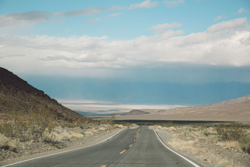 Arid Climate Arid Landscape California Cloud - Sky Couds Day Death Valley Death Valley National Park Desert Empty Landscape Mountains Nature Nature Outdoors Road Roadtrip Sand Storm Scenics Sky Storm The Way Forward Tranquil Scene Tranquility Transportation