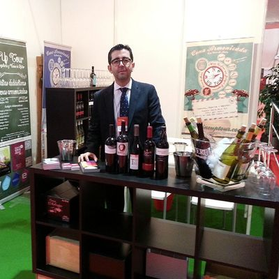 FENAVIN2015 Dia2 aquí os espero: pabellón 2 C/4 stand 27 con los vinos del Wineuptour