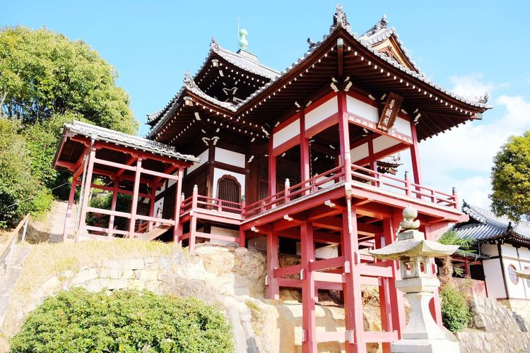 広島 竹原 保存地区 西方寺