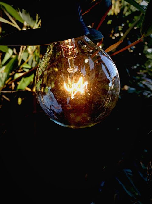 The light shines during the day and the night Day Light Light Bulb My Best Photo 2015 Showcase: December The Innovator The Week On EyeEm Be. Ready. See The Light