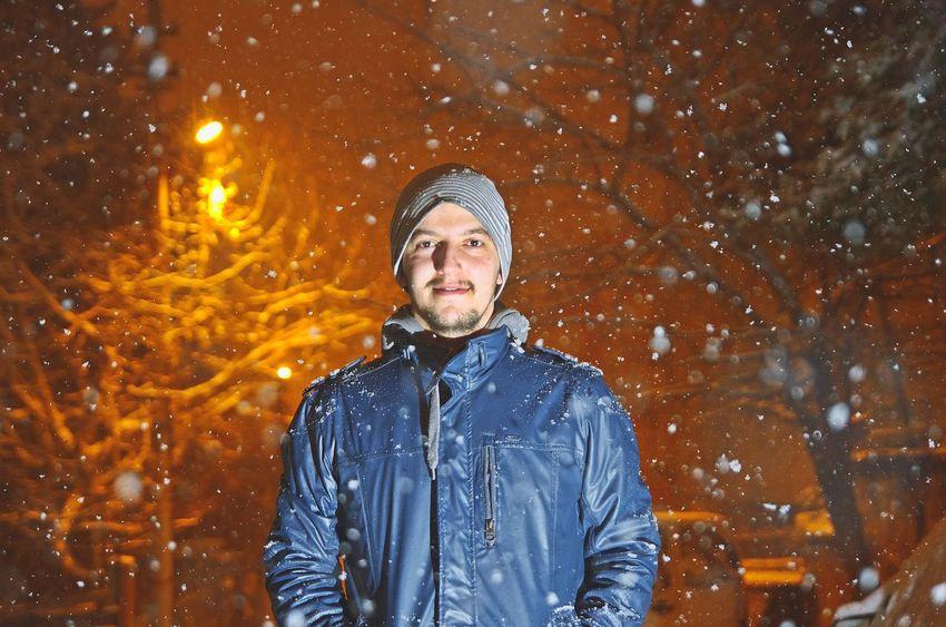 Snow Snowing Nihgt Hello World Taking Photos That's Me Me Snow ❄ Vscocam VSCO